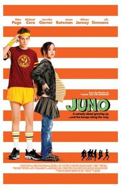 Juno Michael Cera Ellen Page Garner Reitman Comedy Movie Poster Print Limited