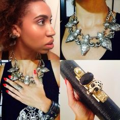 These chunky accessories are awesome! Edgy and cool! code name: drédin: The Prismatic World Tour