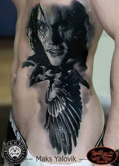 Artist: Maksim Yalovik, The Crow---♡♡♡rq