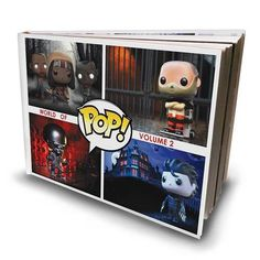 The second of a series of three beautifully designed coffee table books on the Funko Pop! Vinyl series. It covers all of these themes from Advenure Time to Wreck It Ralph!