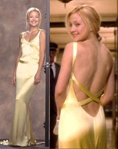 Kate Hudson in beautiful 1930s style dress in film 'How to Lose a Guy in 10 Days'.