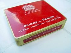 Benson and Hedges. When only the best will do...