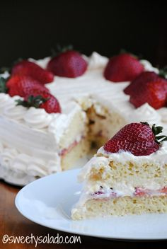 Sweet y Salado: Tres Leches Cake With Arequipe Whipped Cream