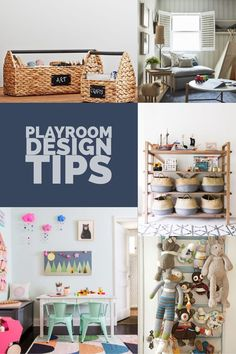 How to Design and Organize the perfect playroom!  #playroom #designtips #homedecorideas #homedecor