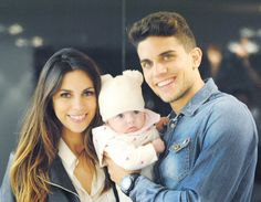 Aww!!! Bartra's daughter Gala! So cute ^.^!! ;P (Born on August 18th 2015)