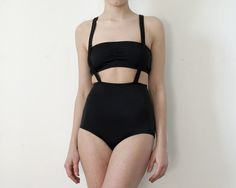 Suspendered Bather by MinnowBathers on Etsy, $145.00
