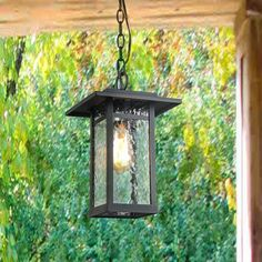 Outdoor Wall Sconce Porch Light Farmhouse in Smooth Black with Clear Glass