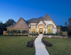 Perry Homes - The Preserve of Mission Valley Model Home Design 3714W   -   New Braunfels, TX #SanAntonioHomes