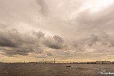 写真 ベイブリッジ 202002 雲低く波穏やか My Works, Clouds, Outdoor, Outdoors, The Great Outdoors, Cloud