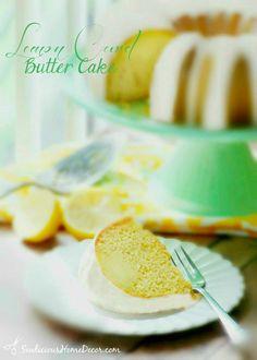 Lemon Curd Butter Cake Recipe sewlicioushomedecor Lemon Curd Butter Cake