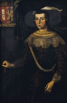 Luisa Maria Francisca de Guzmán y Sandoval (13 October 1613 – 27 February 1666) was a queen consort of Portugal. She was the spouse of King John IV, the first Braganza ruler, as well as the mother of two kings of Portugal (Afonso VI and Pedro II) and a queen of England (Catherine of Braganza). She served as regent of Portugal from 1656.