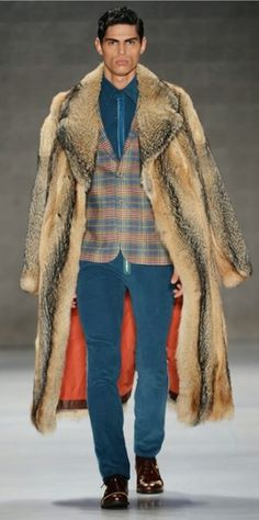 #Men´s Wear... Emre Erdemoglu Spring Summer 2014 #Moda Hombre... View - Fashion For Passion Fur Outlet