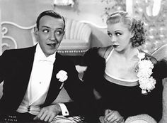 My favourite on-screen partnership: Fred Astaire and Ginger Rodgers