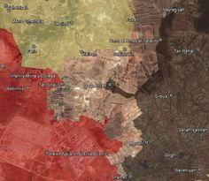 ISIS strikes back against Turkish-backed rebels in northern Aleppo: map