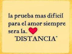 #distancia #amor
