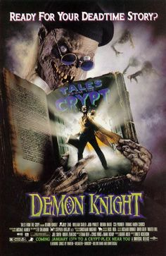 Tales from the Crypt Presents: Demon Knight movie poster (US) (Damn Billy Zane was sexy in this movie! Horror Movie Posters, Original Movie Posters, Horror Films, Film Posters, Halloween Movies, Halloween Horror, Scary Movies, Good Movies, Comic Movies