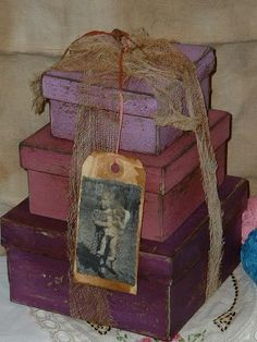 "denim-and-chocolate: "" ~ Aubergine ~ Plum ~ Eggplant ~ "" Plum Purple, Plum Color, Shades Of Purple, Burgundy, Hat Boxes, Pretty Box, Altered Boxes, My Favorite Color, Iphone Wallpaper"