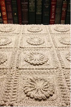 Matelassé Afghan By Priscilla Hewitt - Free Crochet Pattern - See http://www.priscillascrochet.net/free%20patterns/Free%20Afghans/Matalsse%20Afghan.pdf - (priscillascrochet)