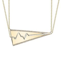 Favorite Gift For Your Bestie (these grown up Best Friend Heartbeat Necklaces by Smith   Mara)