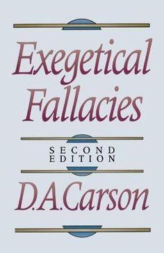 Exegetical Fallacies