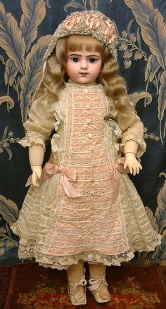 Antique French Bebe Doll C. 1890