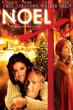 Noel Movie Poster - Penélope Cruz, Paul Walker, Susan Sarandon  #Noel, #MoviePoster, #ChazzPalminteri, #KidsFamily, #PaulWalker, #LopeCruz, #SusanSarandon
