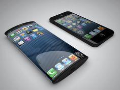 Curved iPhones due in 2014