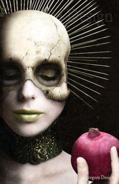 Artist:  Aristotle Pramagioulis - Egregore Design Macabre Art, Persephone, Halloween Face Makeup, Artist, Design, Artists
