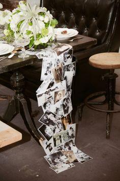 DIY Table runner! So sweet