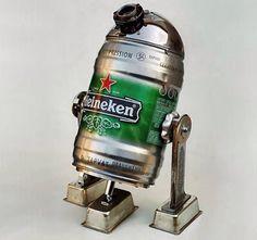 Fancy - Heineken Beer R2D2 Robot