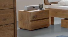 Schubladen-Nachttisch aus Eiche-Massivholz  - Bayamo