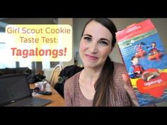 Tagalongs! | Girl Scout Cookie Unboxing | MamaKatTV - YouTube