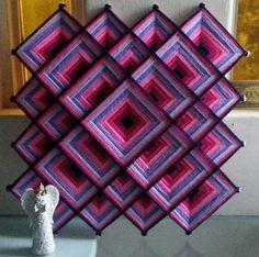 Bildergebnis für mandalas con hilos y palos Nature Crafts, Fun Crafts, Diy And Crafts, Arts And Crafts, Mandala Dots, Crochet Mandala, Rangoli Ideas, Mexican Crafts, String Art Patterns
