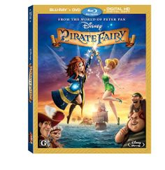 The Pirate Fairy Blu-ray Review: A New Tinker Bell Adventure Worth Exploring #tinkerbell #fairies #disney #zarina