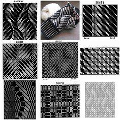 Etudes Mosaic – Knitting Models and Suggestions Intarsia Patterns, Fair Isle Knitting Patterns, Weaving Patterns, Knitting Designs, Stitch Patterns, Crochet Patterns, Slip Stitch Knitting, Knitting Stiches, Knitting Charts