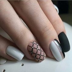 60 Lovely Summer Nail Art Designs - Gravetics - - Look at the summer nail art design photos, choose the best idea for yourself and embody it boldly! Best option summer nail designs 2018 and 2018 nail art designs. Nail Art Designs, Creative Nail Designs, Winter Nail Designs, Creative Nails, Nails Design, Trendy Nail Art, Stylish Nails, Super Nails, Beautiful Nail Art