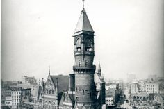 The history of New York City's buildings, architecture, neighborhoods, landmarks, public works and urban development. New York Times, Ny Times, Big Ben, New York City, The Neighbourhood, Nyc, Urban, History, Architecture