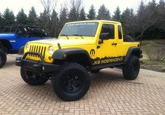 * Jeep Wrangler Unlimited * Pick-Up-Conversion.
