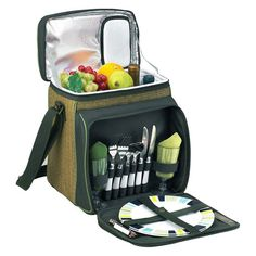 Picnic At Ascot Eco Picnic Cooler for 2 - 526-FO