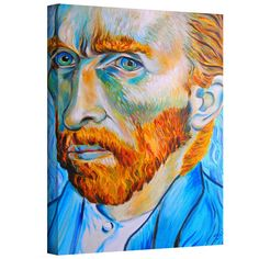 'My Own Private Vincent van Gogh' by Susi Franco Painting Print on Canvas