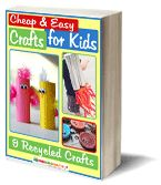 Cheap and Easy Crafts for Kids: 9 Recycled Crafts | AllFreeKidsCrafts.com
