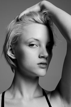 NEW FACES: APRIL TIPLADY BY JAMES NELSON! short hair
