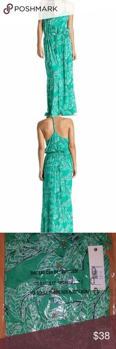 1a8c837fc84 🆕Roxy Junior s Casino Point Printed Maxi Summer is ready for you in this Roxy  Casino Point Maxi Dress FEATURES  Relaxed fit maxi dress in a breezy  printed ...
