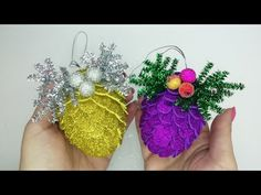 Foam Board Crafts, Foam Sheet Crafts, Foam Crafts, Paper Crafts, Christmas Images, Christmas Balls, Christmas Crafts, Christmas Ornaments, New Year's Crafts