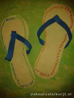 Zomerknutsel slippers 2