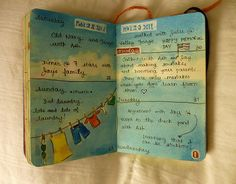 Love this site!!  Great Artist...thinking I may start my own sketchbook journal!    worldexperience:  Sketchbook Journal - May (von jennyfrith)