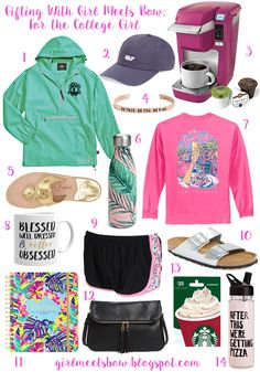 Gifting With Girl Meets Bow: For the College Girls - Girl Meets Bow