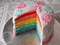 ITALIANS DO EAT BETTER: RAINBOW CAKE (TORTA ARCOBALENO)