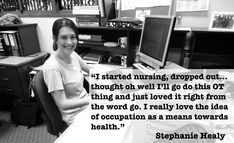 Stephanie Healey graduated from the University of the Sunshine Coast and moved into her first OT position with the Department of Education in her home state. This position turns out to be quite unique in Australia and I wanted to learn all about it. Steph explained the types of intervention she does with her students, her journey into OT and her dream roll! School Ot, Sunshine Coast, Just Love, Things I Want, Students, University, Journey, Positivity, Australia