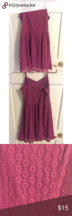 Mossimo purple dress Mossimo purple skinny strap dress Mossimo Supply Co Dresses Mini